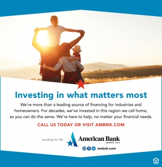 Investing In What Matters Most