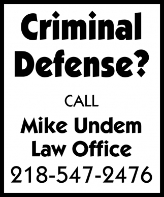 Criminal Defense?