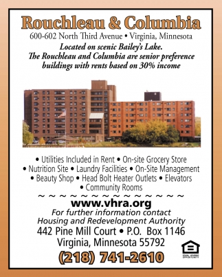 For Further Information Contact Housing And Redevelopment Authority