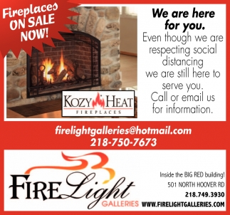 Fireplaces On Sale Now!