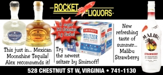 Try The Newest Seltzer By Smirnoff!