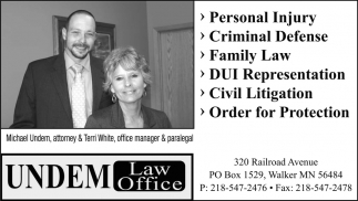 Personal Injury - Criminal Defense.