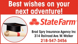 Best Wishes On Your Next Adventure!