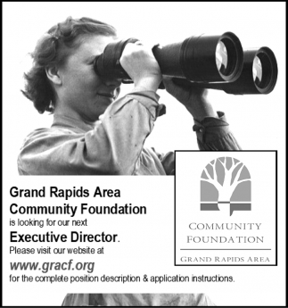 Is Looking For Our Next Executive Director