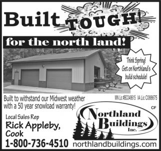 Built Tough! For The North Land!