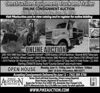 Construction Equipment Truck & Trailer