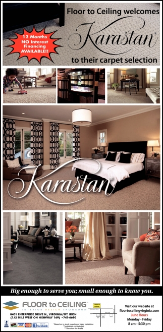 Floor To Ceiling Welcomes Karastan To Their Carpet Selection
