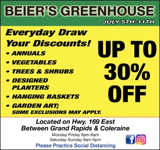 Everyday Draw You Discounts!