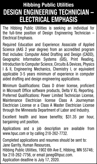 Design Engineering Technician
