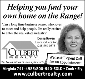 Helping You Find Your Own Home On The Range!