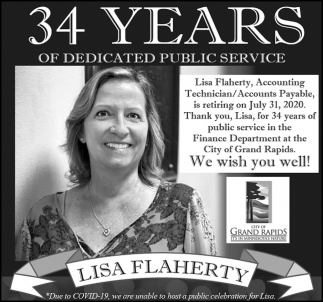 34 Years Of Dedicated Public Service