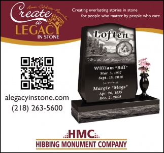 Create A Legacy In Stone