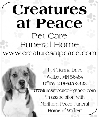 Pet Care - Funeral Home