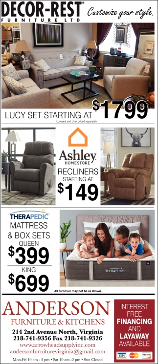 Lucy Set Starting At $1799