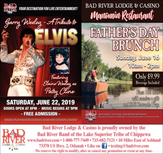Garry Wesley A Tribute to Elvis / Father's Day Brunch