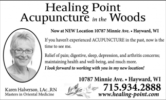 Acupuncture in the Woods