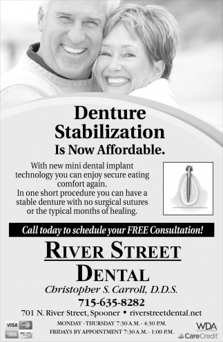 Denture Stabilization Is Now Affordable