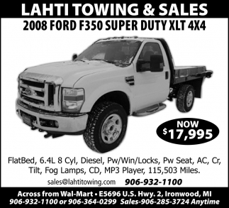 2008 Ford F350 Super Duty XLT 4X4