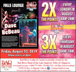 Dave BeBeau / 2X The Points 3X The Points