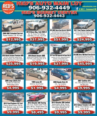 Vehicles for sale