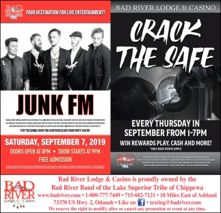 Junk FM / Crack The Safe