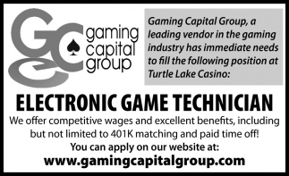 Electronic Game Technician