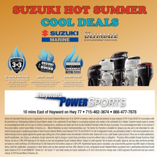 Suzuki Hot Summer Cool Deals