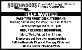 Front Desk / Group Exercise Instructor