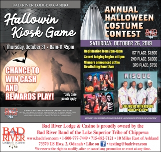 Hallowin Kiosk Game / Annual Halloween Costume Contest