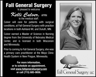 Welcome Kelli Culver