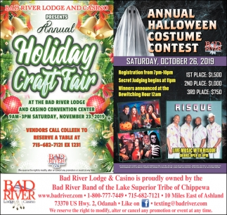 Annual Holiday Craft Fair / Annual Halloween Costume Contest