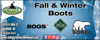 Fall & Winter Boots