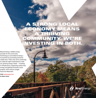 A strong local economy means a thriving community. We're investing in both