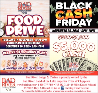 Food Drive / Black Cash Friday