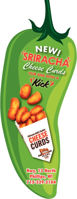 Sriracha Cheese Curds