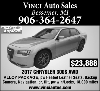 2017 Chrysler 300S AWD