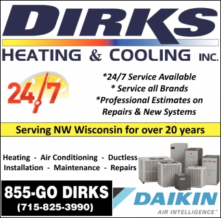 Heating, Air Conditioning, Ductless, Installation