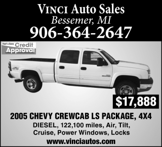 2005 Chevy Crewcab LS Package
