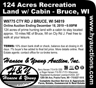 124 Acres Recreation