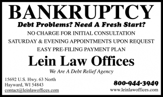 Bankruptcy?