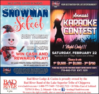 Snowman Select / Annual Karaoke Contest