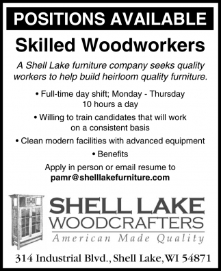 Skilled Woodworkers