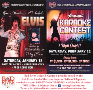 A Tribute to Elvis / Annual Karaoke Contest