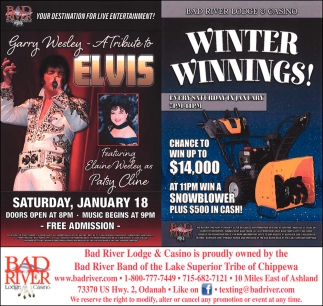 A Tribute to Elvis / Winter Winnings!