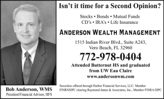 Stocks, Bonds, Mutual Funds, CD's, IRA's, Life Insurance