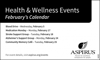 Health & Wellness Events