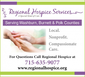 Serving Washburn, Burnett & Polk Counties