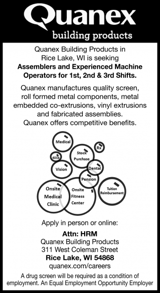 Assemblers, Machine Operators