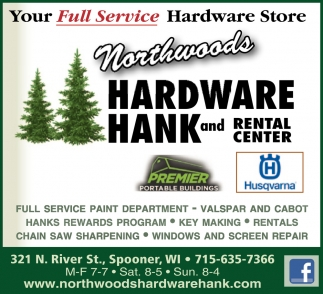 Your full service hardware storeqWA