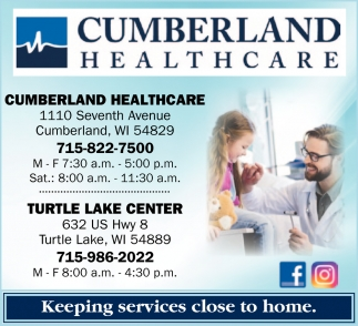 Cumberland Healthcare's Therapy Team